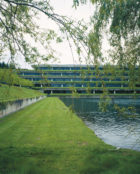 Completed in 1971, the SOM-designed Weyerhaeuser Headquarters is considered a milestone of architecture integrated with the natural environment.
