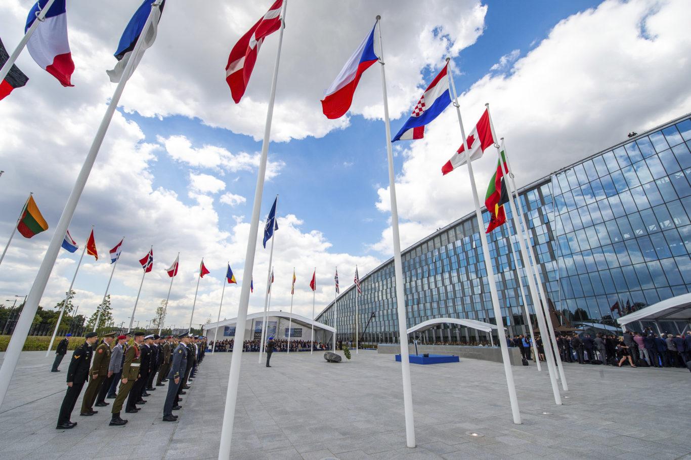 Slide 1 of 11, NATO Headquarters