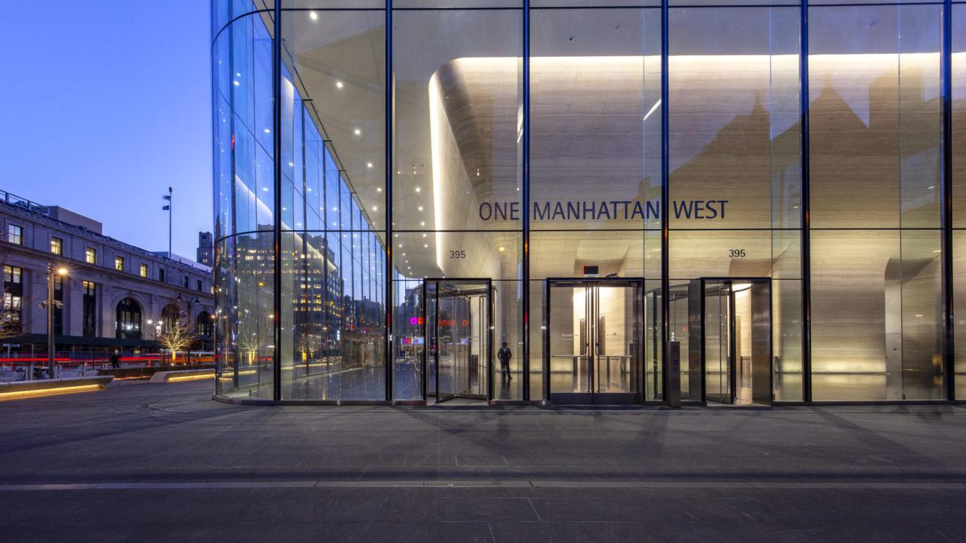 Slide 7 of 15, One Manhattan West Lobby