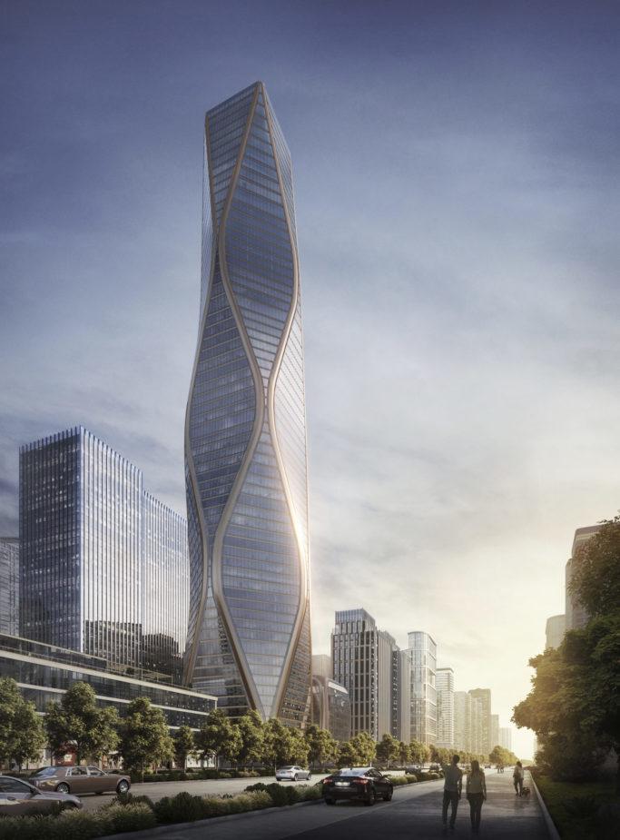 Slide 2 of 3, Hangzhou Tower