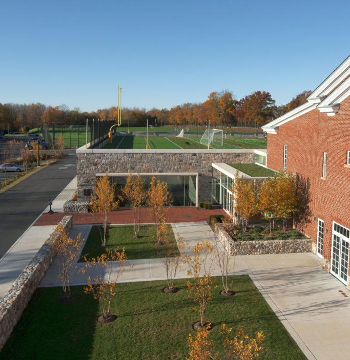 Slide 3 of 8, Brunswick School –Natatorium