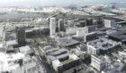 Long Beach Civic Center - Aerial