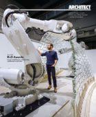 Glass vault Architect Magazine Cover