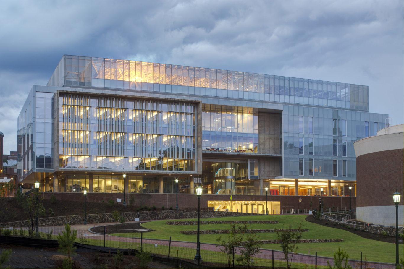 Slide 1 of 12, University of North Carolina Genome Science Building