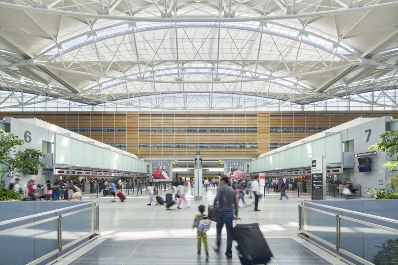 Slide 2 of 7, San Francisco International Airport – International Terminal