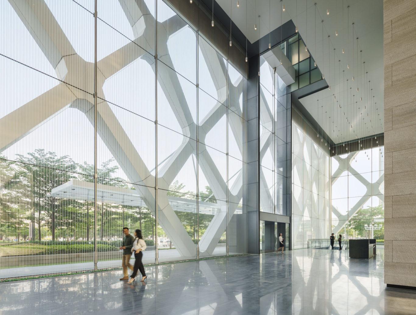 Slide 4 of 10, Shenzhen Rural Bank Headquarters