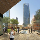 Beijing Dawangjing CBD Concept Master Plan