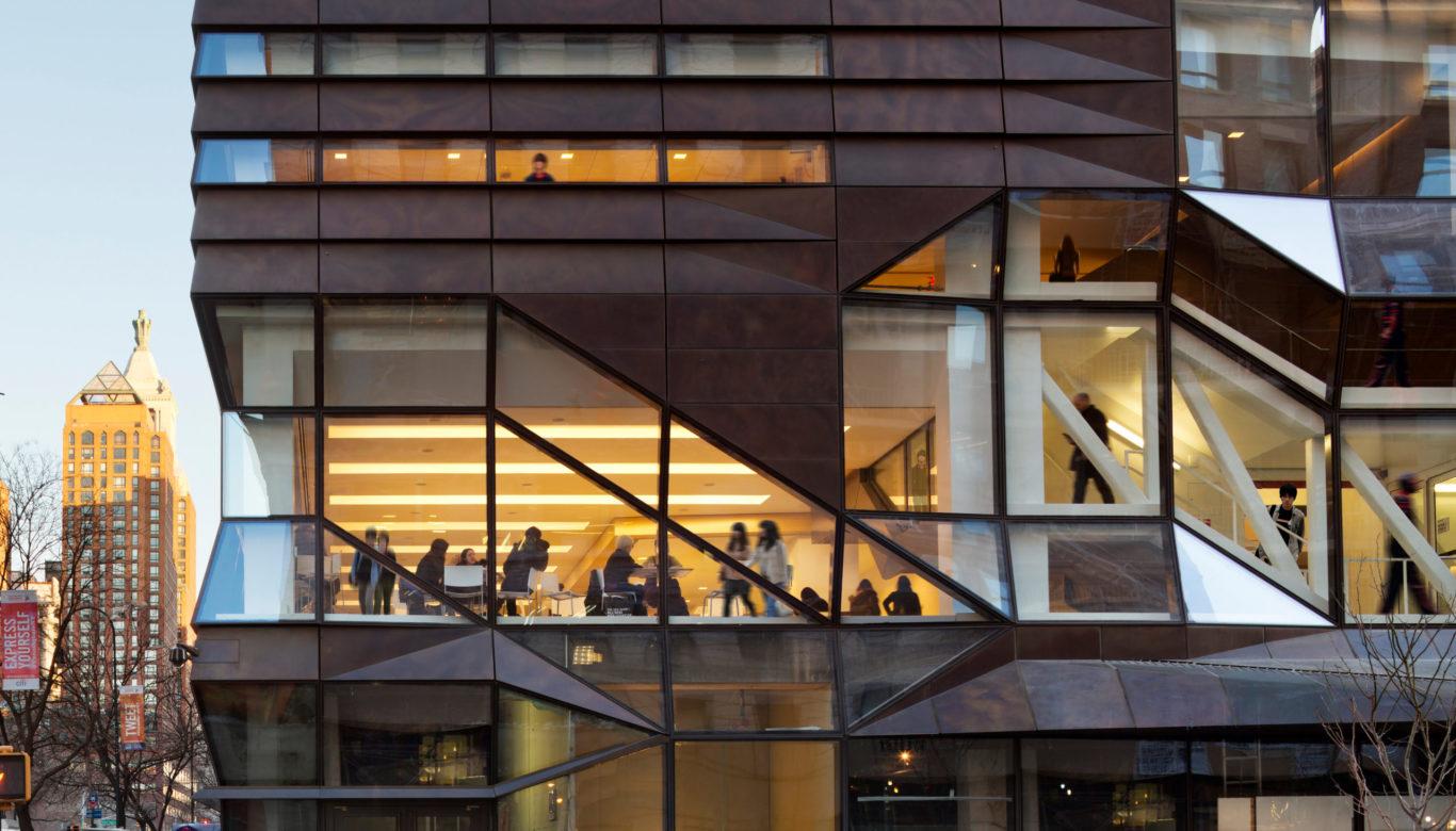 Slide 1 of 1, The New School University Center