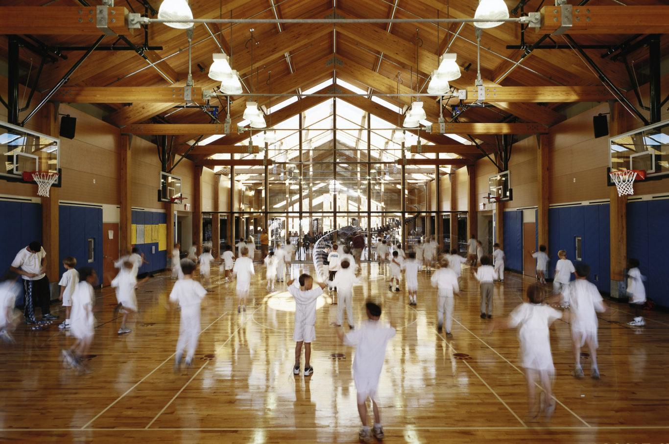 Slide 1 of 3, Brunswick School – Lower School and Gymnasium