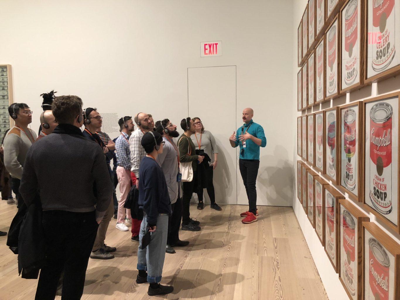 Slide 1 of 6, Warhol at Whitney