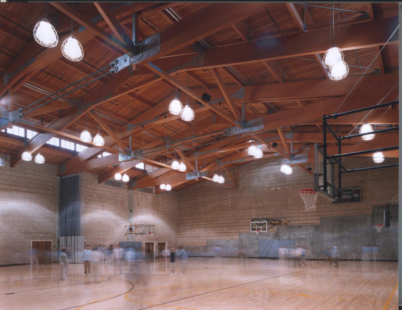 Slide 4 of 7, Brunswick School – Athletic Center