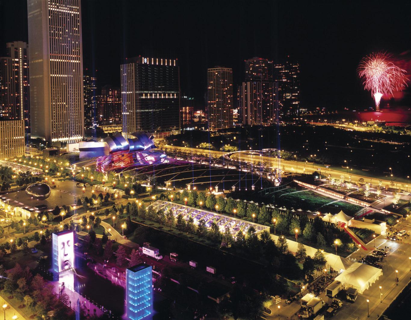 Slide 3 of 4, Millenium Park Chicago