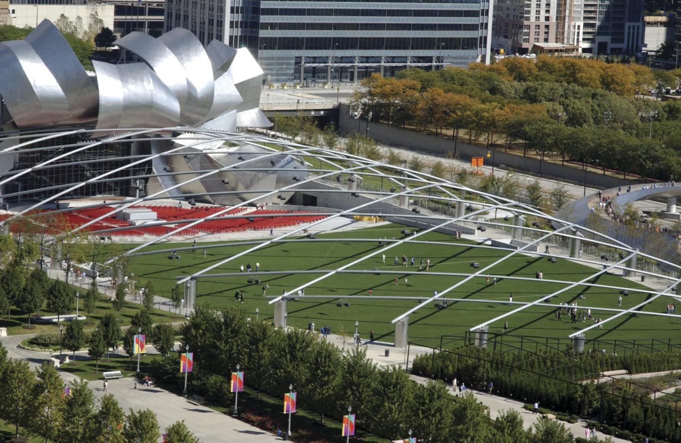 Slide 2 of 4, Millenium Park Chicago