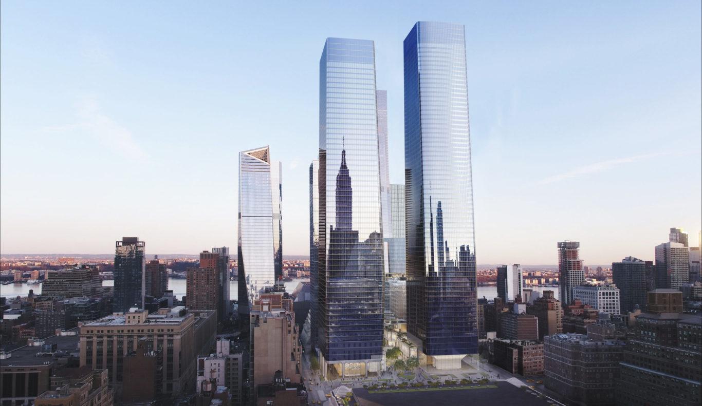Slide 1 of 4, Manhattan West Development