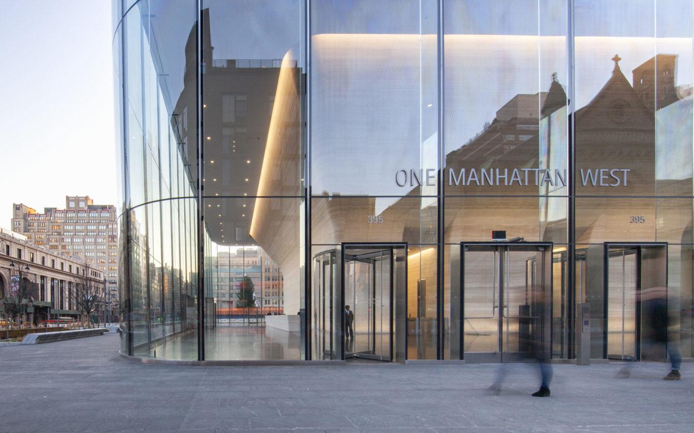 Slide 6 of 15, One Manhattan West Lobby