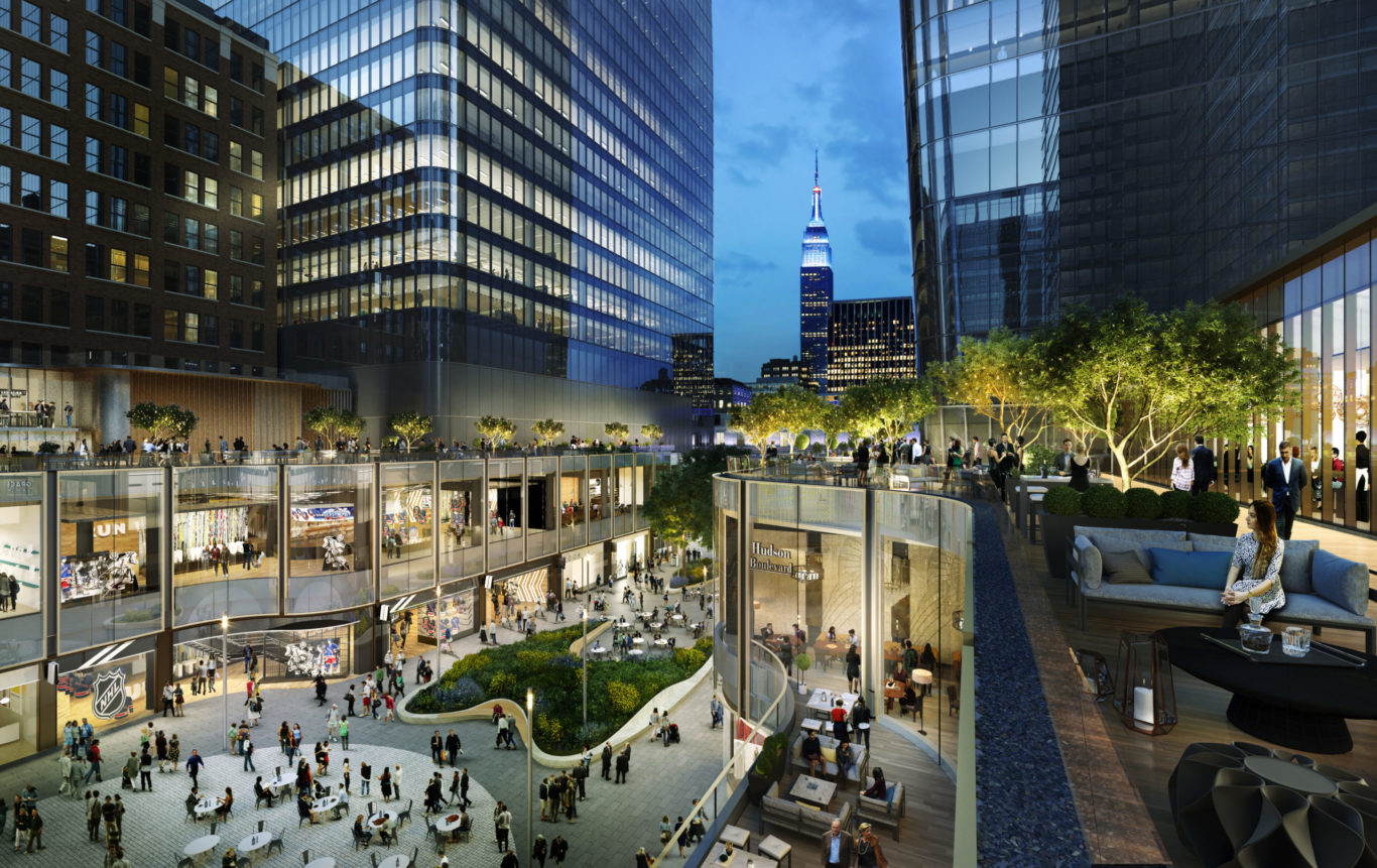 Slide 2 of 15, Manhattan West Plaza