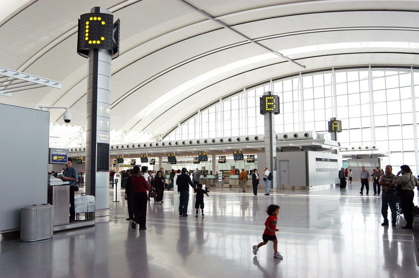 Slide 1 of 1, Toronto Airport