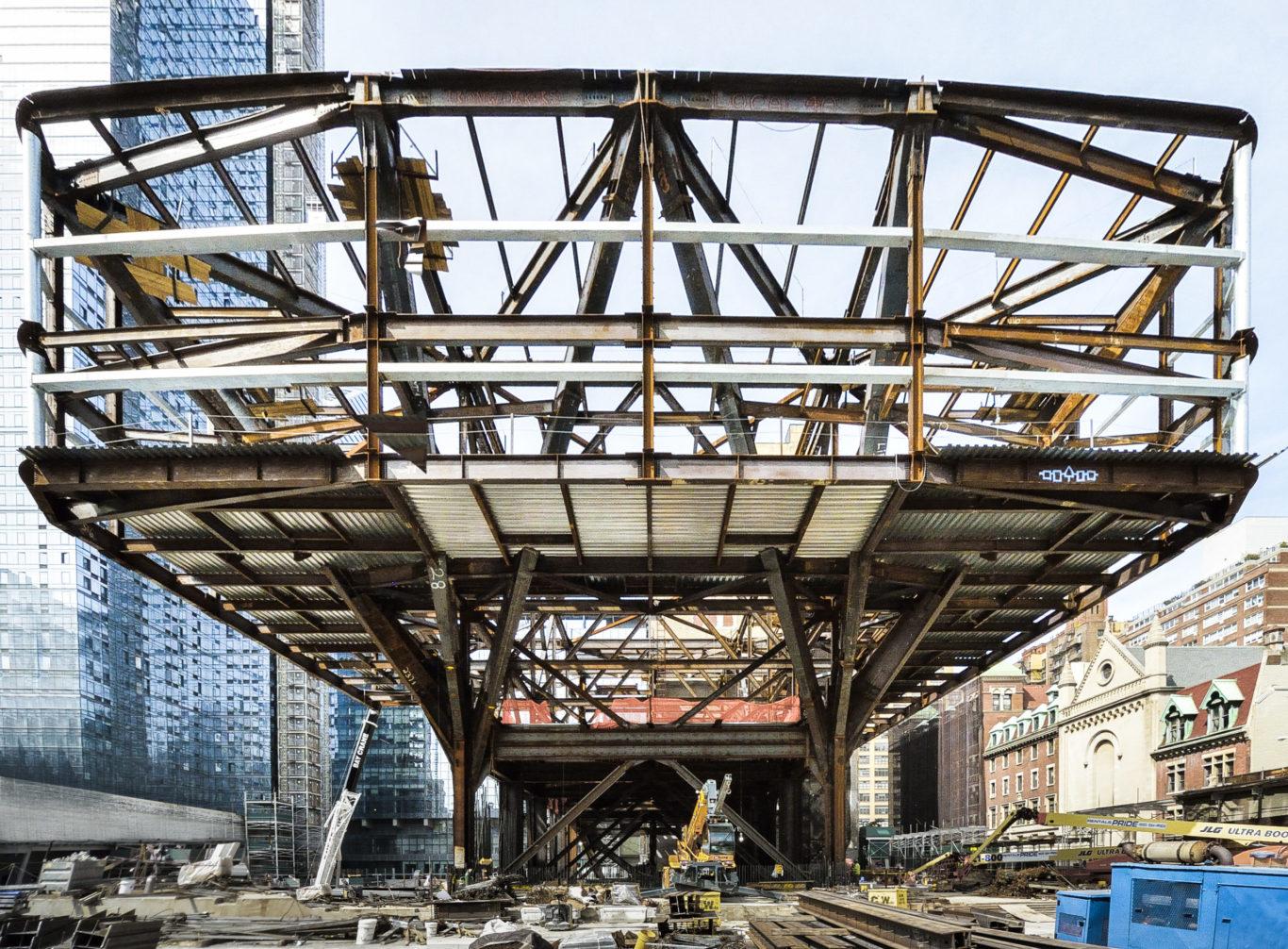 Slide 4 of 7, One Manhattan West Construction