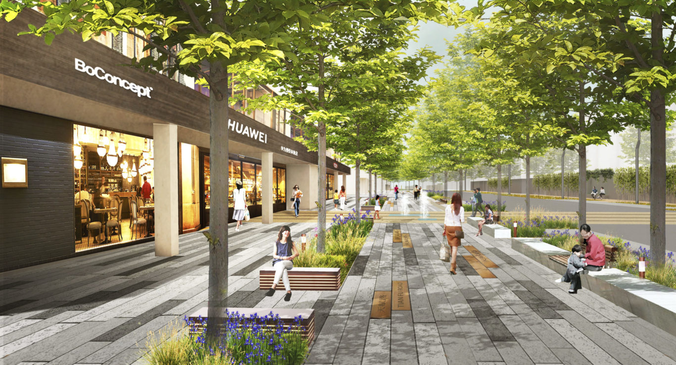 Slide 8 of 9, Zhengzhou Public Realm Improvement Plan