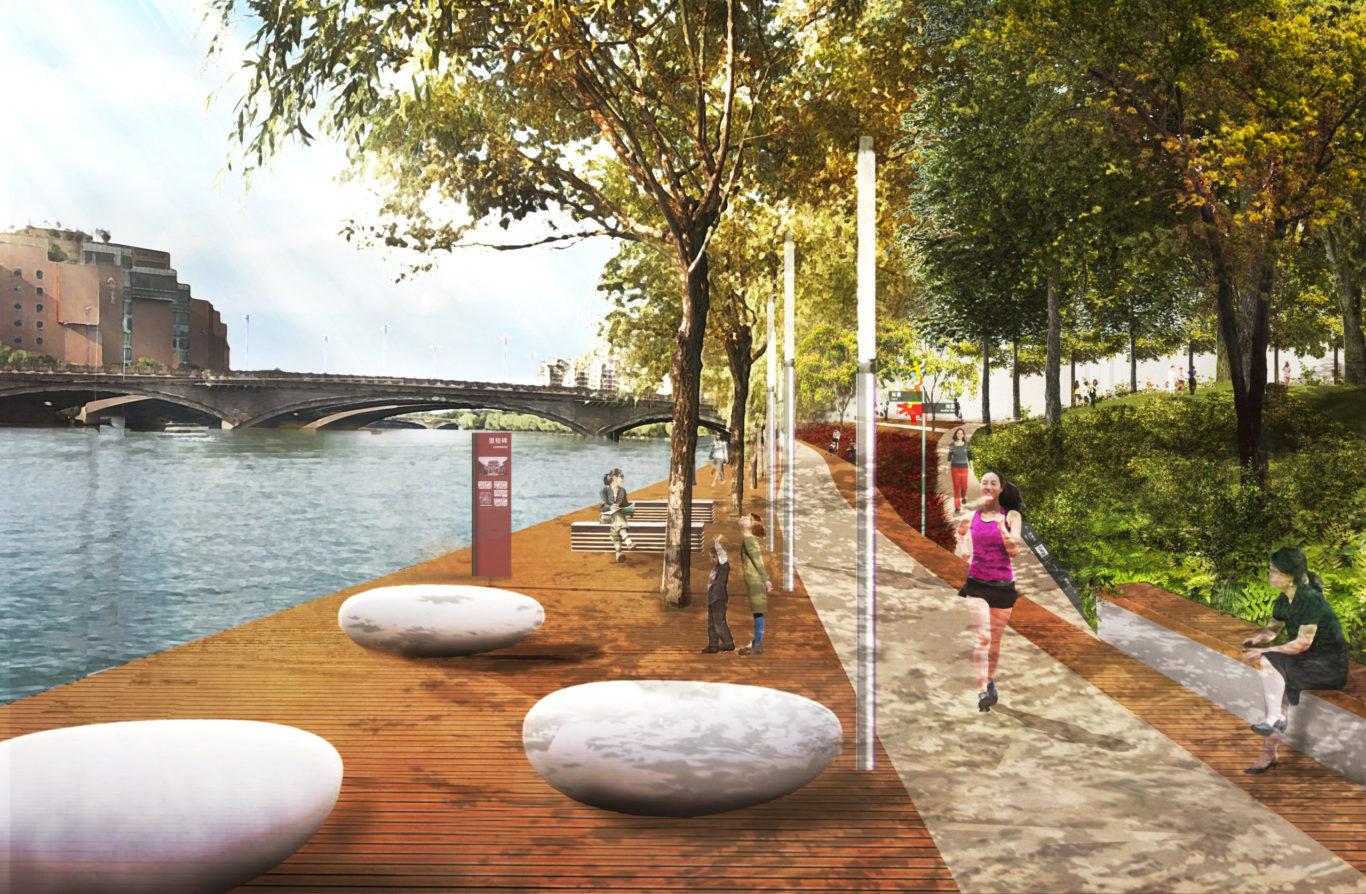 Slide 7 of 9, Zhengzhou Public Realm Improvement Plan