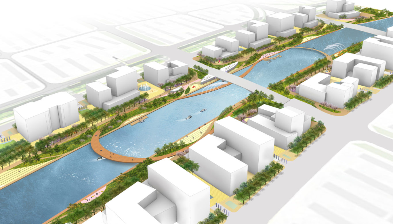 Slide 4 of 9, Zhengzhou Public Realm Improvement Plan