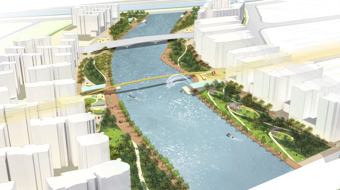 Slide 3 of 9, Zhengzhou Public Realm Improvement Plan