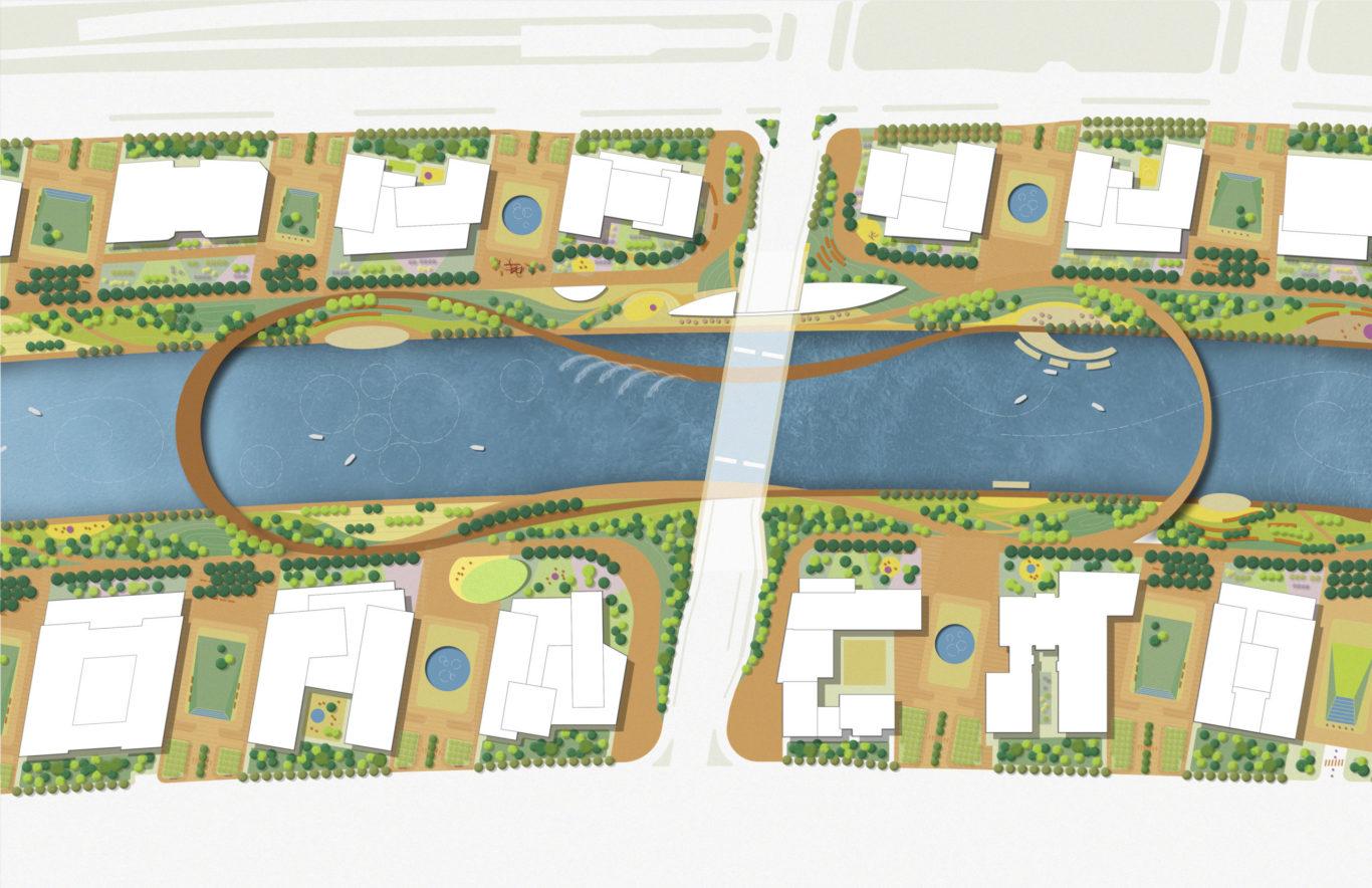 Slide 2 of 9, Zhengzhou Public Realm Improvement Plan